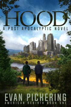 Post Apocalyptic Book Cover by jbrown67