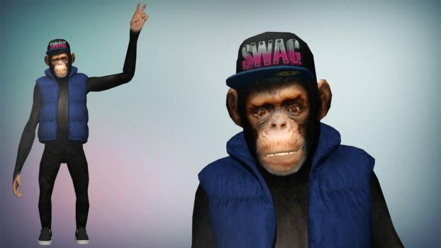 XPS/Xnalara GTA V Joe the Swag Monkey by diegoforfun