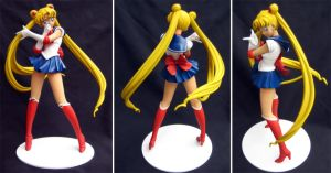 Sailor Moon Resin Figure by shadowvfx