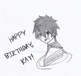 Happy Birthday, Kay! by lightningshinobi