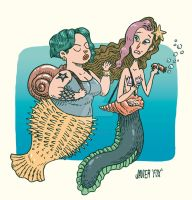 Mermaids by JavierFoxJara
