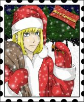 Christmas card for Rayn by BrET13