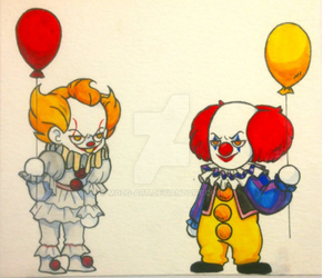 Pennywise by Mozg-ART