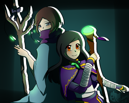 The Healers of the Nightshade by FukuroMami555