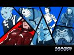 The Cool Cats of Mass Effect by aimo