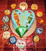 Harry Potter Cupcakes by Monklin-x