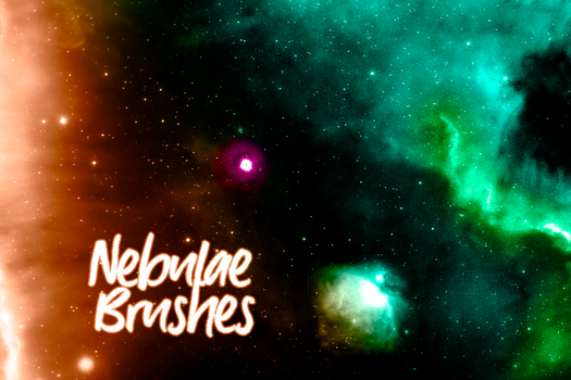 Nebulae Brushes by Sunira