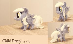 Chibi Derpy by rtry