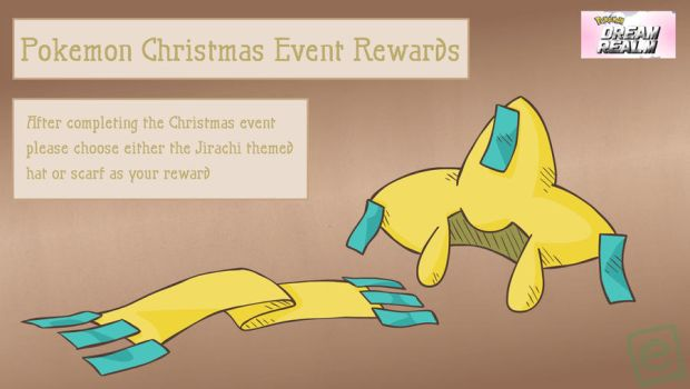 Pokemon Christmas Event Reward by e4animation