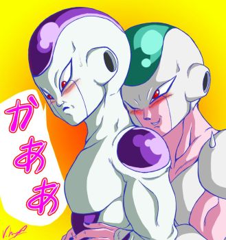 Ice Cube x Frieza by Lovely-Eve