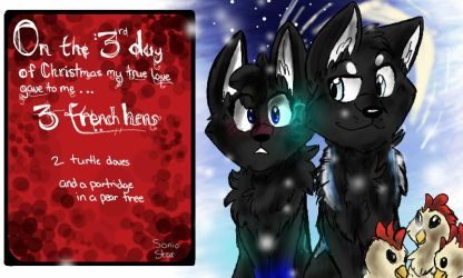 On the 3rd Day of Christmas by Kodi-ak