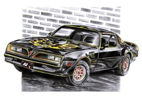 Pontiac Firebird Trans Am by Arek-OGF