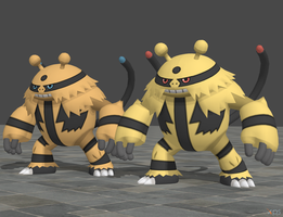 XPS Pokemon X and Y Electivire