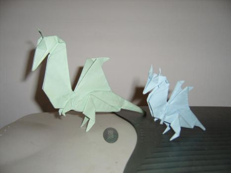 My Little Dragons by 5tarfish