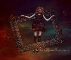 *beautiful nightmare* by BellaDreamArt