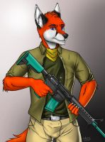 Cooper The Fox by FoxAtack