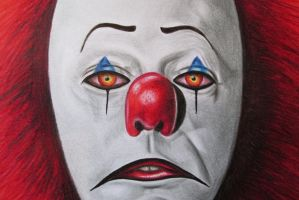 Pennywise the Dancing Clown by Gabzile