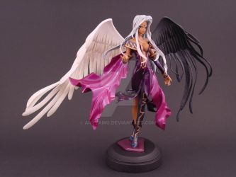 Custom Urd Figure, Pose 3 by ArtyAMG