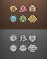 Web Badges by flashdo