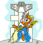 Poseidon Derpy Do Muffins by Pony4Koma