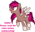 closed - brown pegasus raffle (no points needed!) by aestheticstuffs