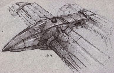 Spaceship concept... by Norke