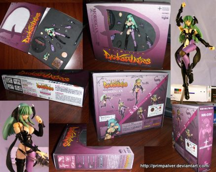 Morrigan Aensland Revoltech Style Custom Figure by PrimPalver