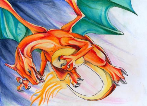 charizard by DestroyedSteak