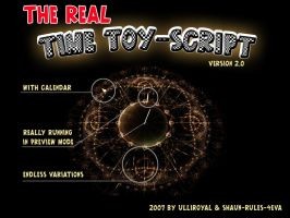 The REAL-TimeToy SCRIPT, 3D by ulliroyal