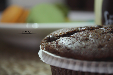 Chocolate CupCake by HMA1
