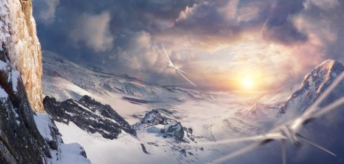 Long Flight by Jessica-Rossier