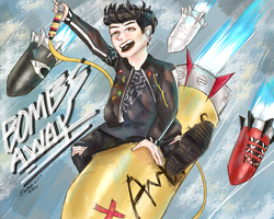 ONE OK ROCK- BOMBS AWAY by Jen-senpai