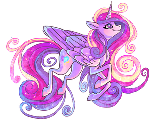 Princess Cadance by griffsnuff