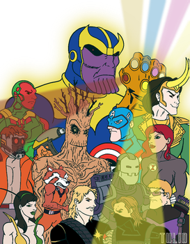 R3AvengersInfinityWarC1 by TULIO19mx