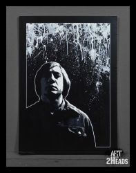 'Anton Chigurh' by Artby2Heads
