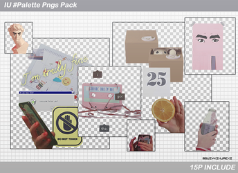 [SHARE PNGs] IU  #Palette @Pngs Pack by SuzyKimJaeXi