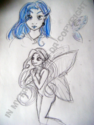 Lilith - My moon fairy by inmyfairytales