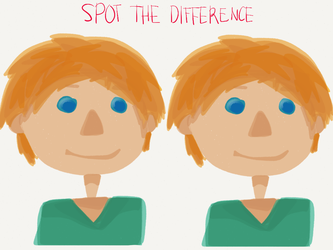 Spot the difference by rezhuane12