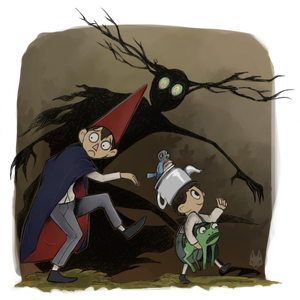 Over the Garden Wall by NimeniCanine