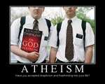 Atheism is not a religion by Ghostexorcist