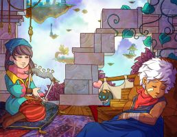 Bastion - The End by Shira-chan