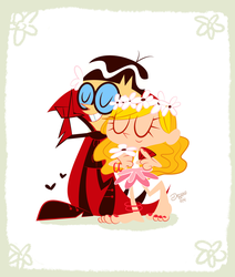 The Monarch and his Princess by Misora-Roll