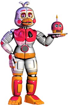 C4d | Funtime Chica [OFFICIAL] | Finished by Smiley-Facade