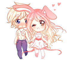 Couples Chibi's by Sumooli