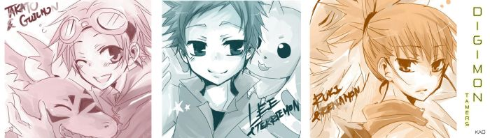 Digimon Tamers by kaokmchan