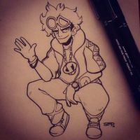 Inktober - Day 7 | Guzma by mattsimp