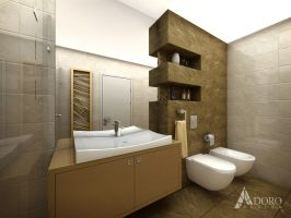 Bathroom Interior Design by adorodesign