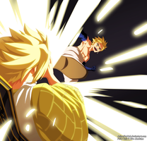 Fairy Tail ch 510 - Sting VS Larcade by AnimeFanNo1