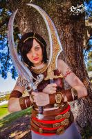 Princess of Persia: Warrior Within cosplay by eitanya