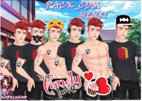 PACK CDM -HENRI-- amor doce by Marylusa18